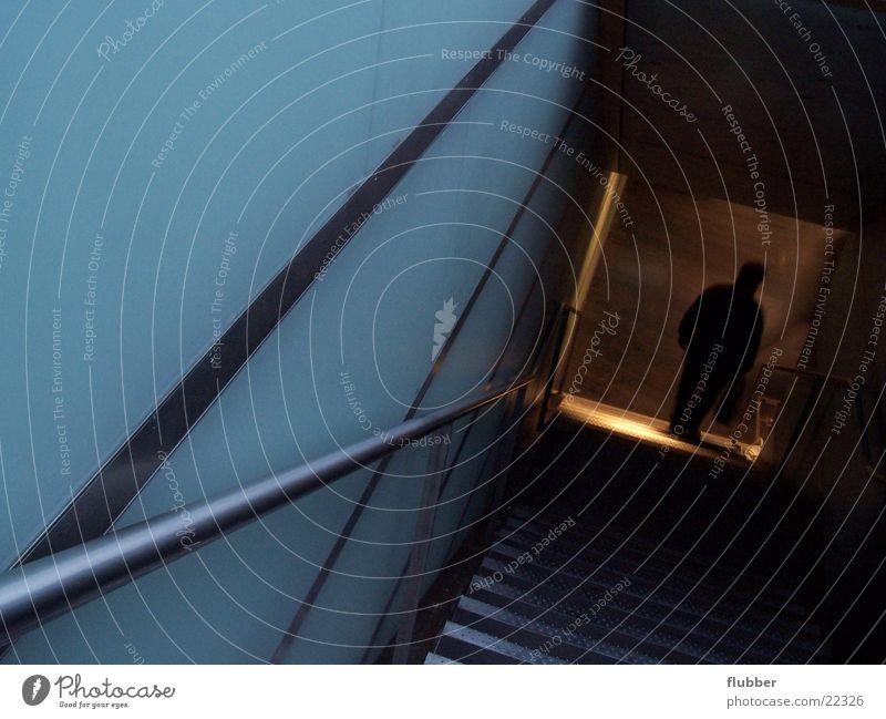 abgang Architektur Treppe abwärts Untergrund Abstieg