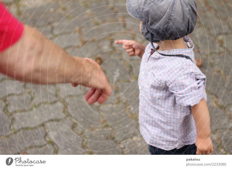 Oma und Enkel Mensch Kleinkind Großeltern Senior Großmutter Kindheit Arme 2 Menschlichkeit Fortschritt Generation Großvater Kindererziehung Kindergarten