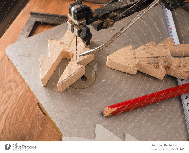 Dekoration aus Holz bauen Dekoration & Verzierung Feste & Feiern Weihnachten & Advent Erwachsenenbildung Arbeitsplatz Handwerk Business Werkzeug Säge Maschine