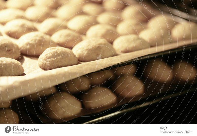 Zimtkekse Lebensmittel Teigwaren Backwaren Süßwaren Keks Ernährung Backblech Duft Bäckerei heiß lecker süß braun Gastfreundschaft geduldig fleißig Erwartung