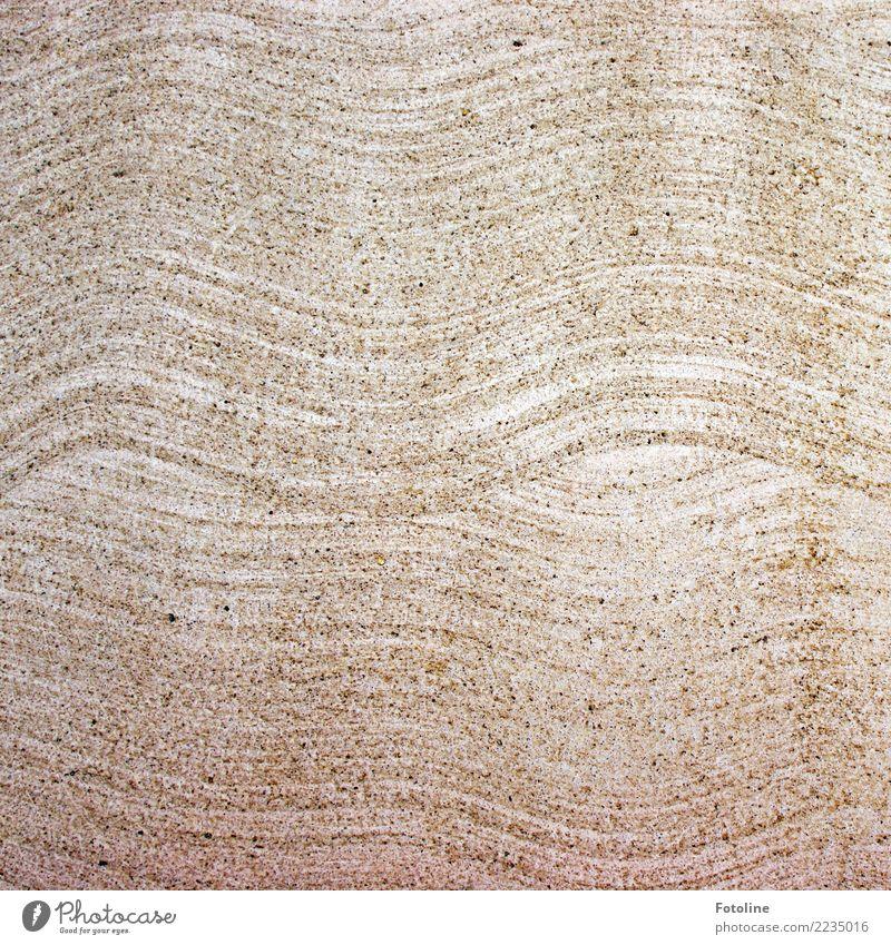 Struktur Stein Ornament hell braun Boden Steinboden Muster Wellenform schwungvoll Farbfoto Gedeckte Farben Außenaufnahme Detailaufnahme Menschenleer Tag
