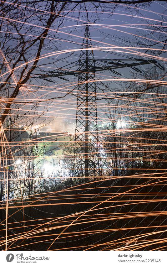 Energie Landschaft Natur blau Stadt grün Baum Winter Wald gelb Umwelt Erde Luft gold Energiewirtschaft Industrie Feuer