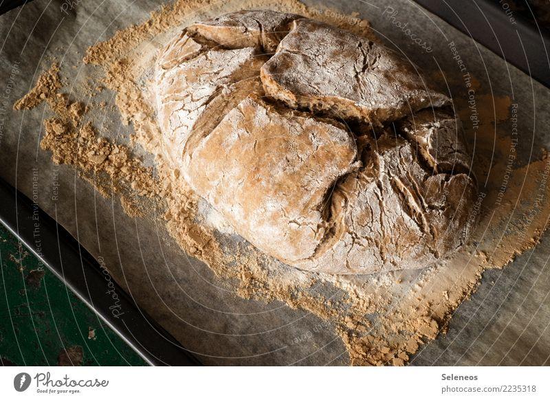 Landbrot Essen Gesundheit Lebensmittel Ernährung frisch lecker Bioprodukte Frühstück Getreide Brot Backwaren Abendessen Vegetarische Ernährung Teigwaren