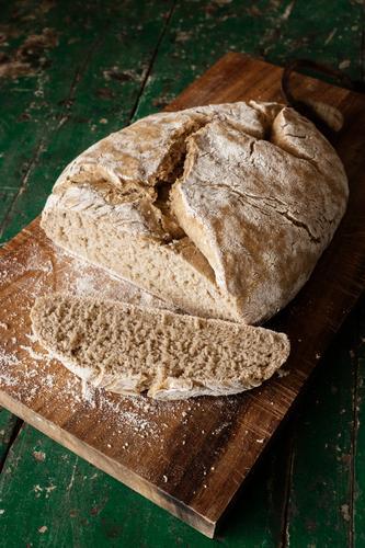 davon kannst du dir eine Scheibe abschneiden Essen Gesundheit Lebensmittel Ernährung frisch lecker Bioprodukte Getreide Brot Backwaren Vegetarische Ernährung