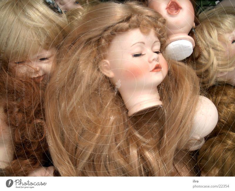 Kopflos Haare & Frisuren Teile u. Stücke Puppe Sammlung Spielzeug