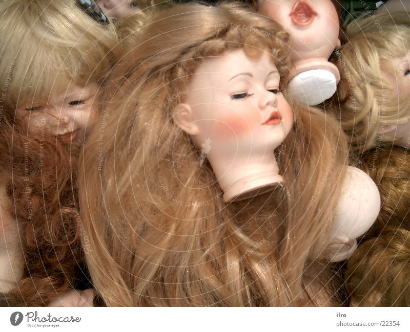 Kopflos Puppe puppenköpfe Haare & Frisuren Sammlung Teile u. Stücke
