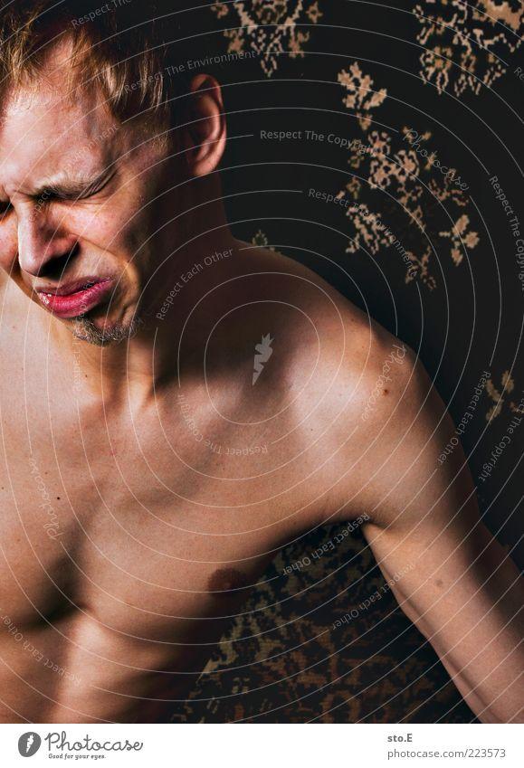 500 | emotional Körper Mensch maskulin Junger Mann Jugendliche Traurigkeit weinen authentisch dünn kaputt natürlich Wut Gefühle Stimmung Sorge Liebeskummer