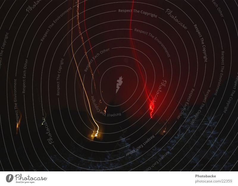 Himmelslichter III Silvester u. Neujahr Nacht Nachthimmel Freizeit & Hobby Feuerwerk Feste & Feiern Licht