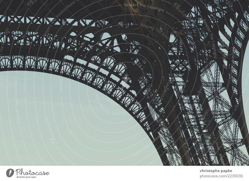 La tour Ferien & Urlaub & Reisen alt Stadt Architektur Gebäude Tourismus Metall Sehenswürdigkeit Bauwerk Wahrzeichen Frankreich Hauptstadt Städtereise