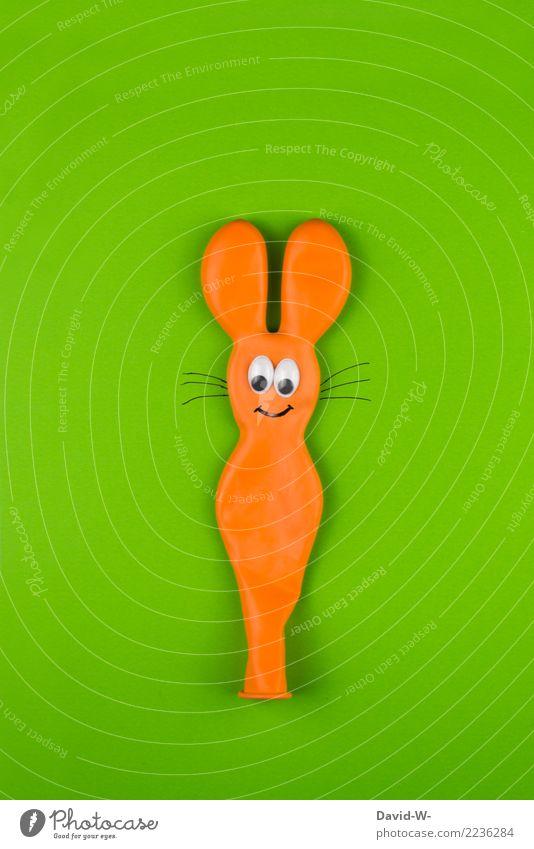 Häschen Lifestyle Freizeit & Hobby Jagd Handarbeit Kunst Künstler Umwelt Natur Tier Wildtier 1 Erfolg niedlich orange Hase & Kaninchen Maus Kreativität Ohr Auge