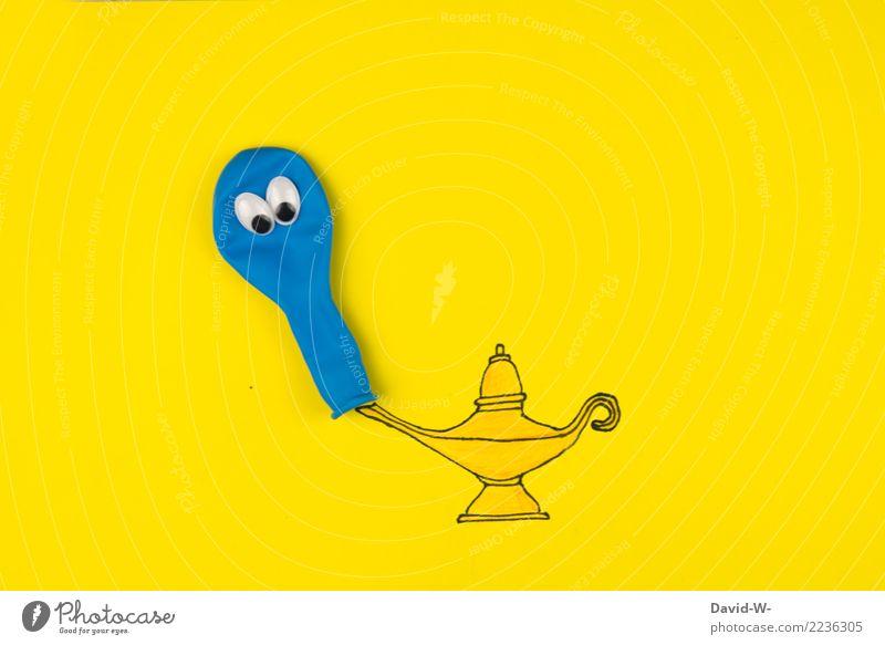 wünsch dir was Kind Mensch schön Freude Auge Leben Stil Kunst außergewöhnlich Lampe fliegen Körper elegant Kindheit Kreativität Geburtstag