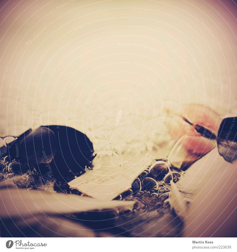 Montagsmiesmuschel Natur Wasser Bewegung träumen Stimmung Küste Wellen Zufriedenheit Zeit Wassertropfen liegen ästhetisch Symbole & Metaphern Momentaufnahme