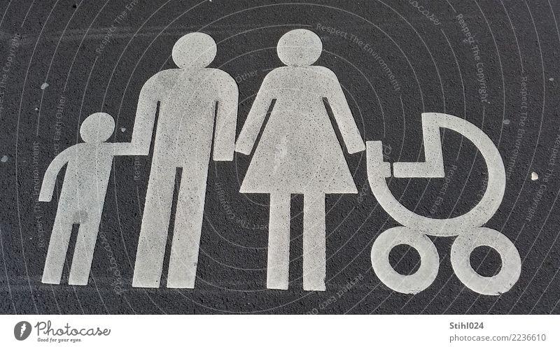 heile Welt Kind Frau Mensch Mann weiß Erwachsene Straße Leben feminin Familie & Verwandtschaft Junge Glück grau maskulin Kindheit Schilder & Markierungen