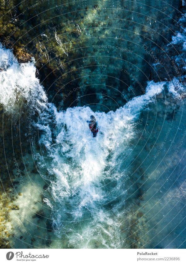 #S# Kajak Wildwasser VI Wasser Sport Schwimmen & Baden oben Wasserfahrzeug Aktion Abenteuer gefährlich bedrohlich Fluss deutlich Wassersport extrem Strömung
