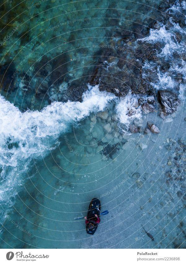 #S# Kajak Wildwasser IV Wasser Sport Schwimmen & Baden oben Wasserfahrzeug Aktion Abenteuer gefährlich bedrohlich Fluss deutlich Wassersport extrem Strömung