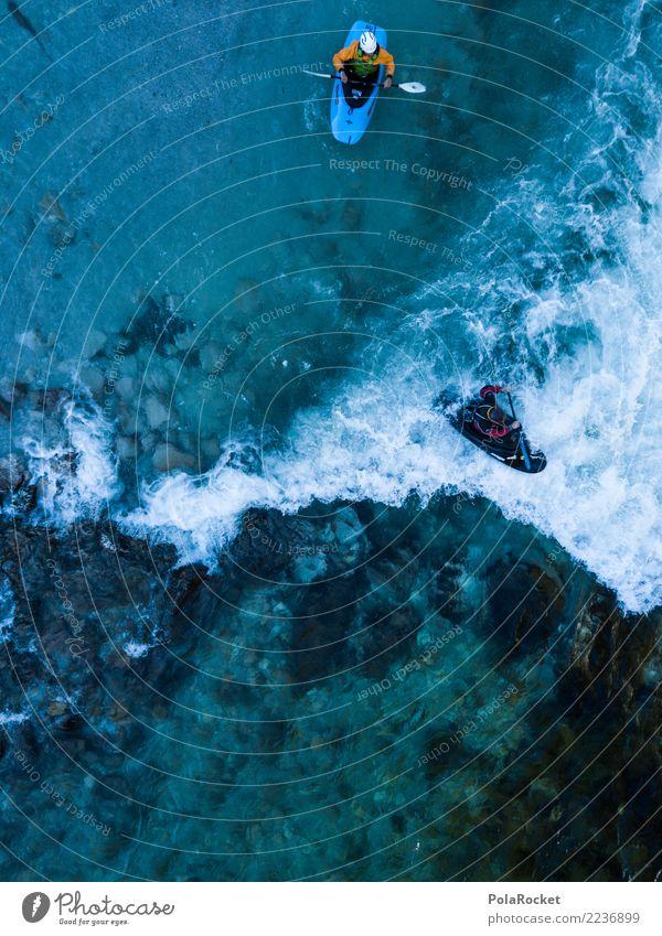 #S# Kajak Wildwasser III Wasser Sport Schwimmen & Baden oben Wasserfahrzeug Aktion Abenteuer gefährlich bedrohlich Fluss deutlich Wassersport extrem Strömung