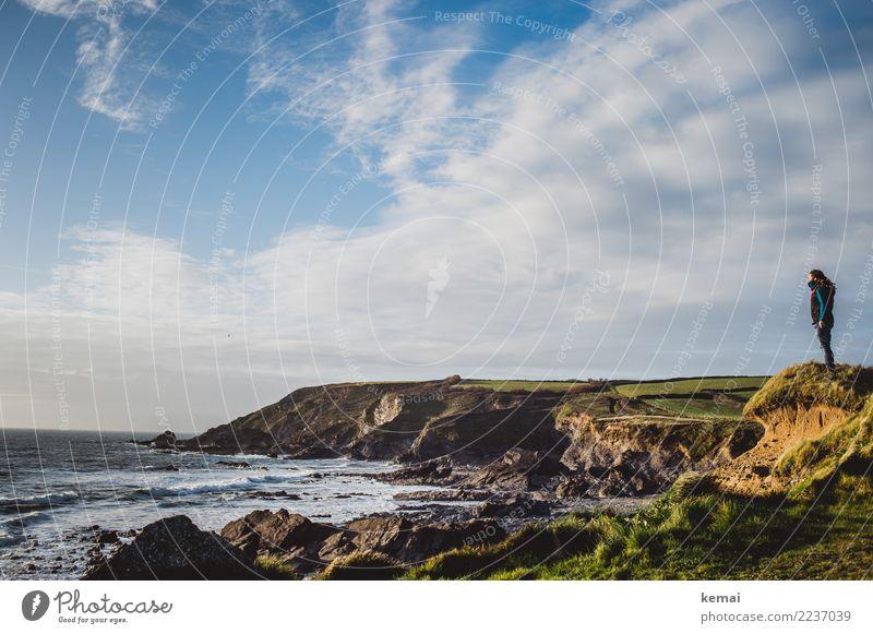 Englische Aussichts-Düne Lifestyle harmonisch Wohlgefühl Zufriedenheit Sinnesorgane Erholung ruhig Freizeit & Hobby Ferien & Urlaub & Reisen Tourismus Ausflug