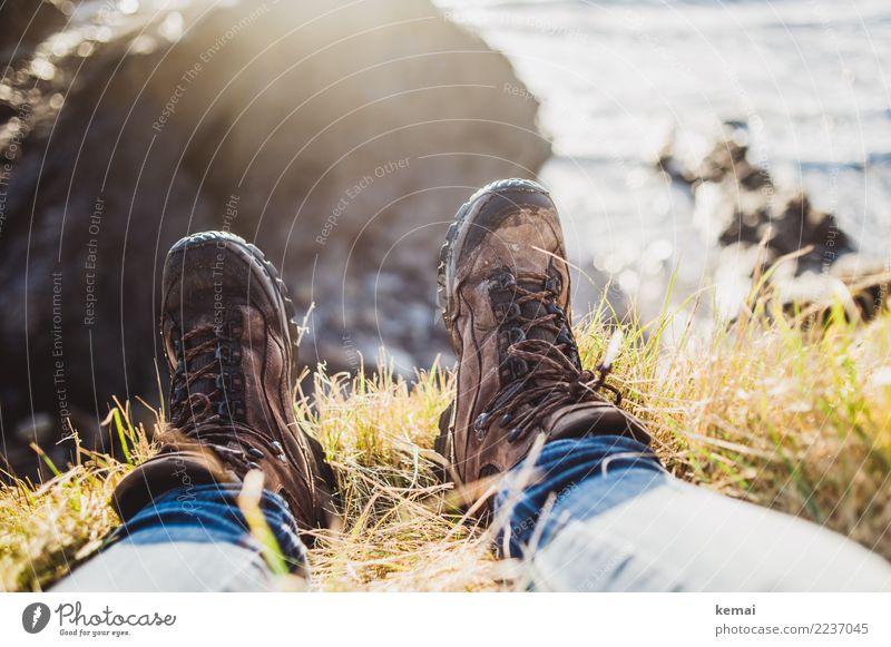 Sometimes, all you need is this. Lifestyle harmonisch Wohlgefühl Zufriedenheit Sinnesorgane Erholung ruhig Freizeit & Hobby Ferien & Urlaub & Reisen Ausflug