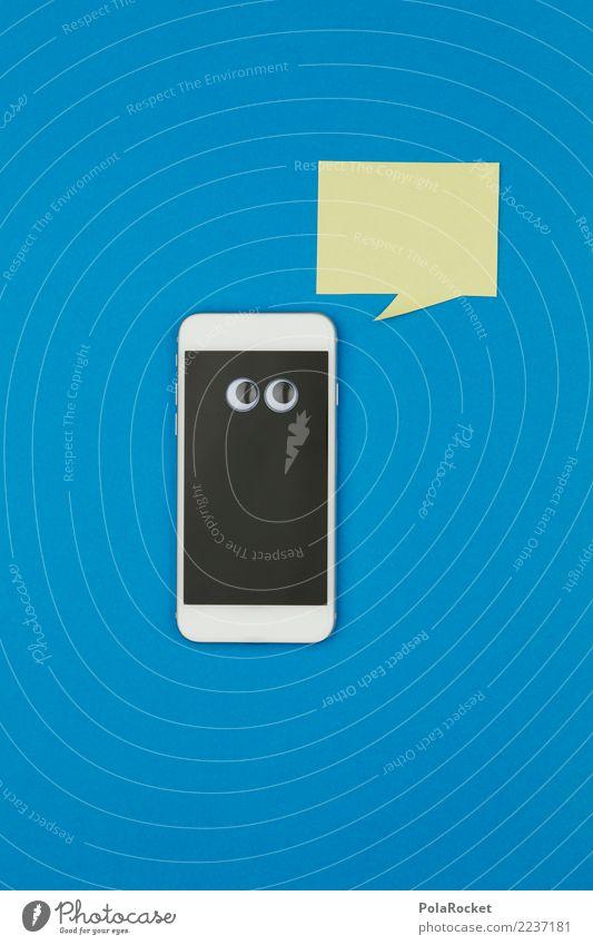#AS# Sag mal.. Kunst Kunstwerk ästhetisch Handy kommunikativ Kommunikationsmittel Telekommunikation sprechen Kommunizieren Sprache Verständigung SMS whatsapp