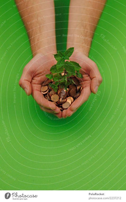 #AS# nachhaltig investiert grün Hand Umwelt Kunst Wachstum Kreativität Hilfsbereitschaft Schutz Bioprodukte Umweltschutz ökologisch Biologische Landwirtschaft