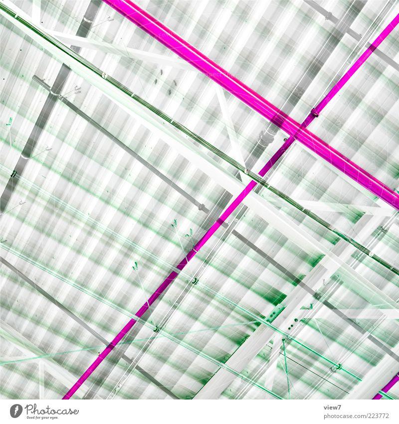 graphix Metall Zeichen Linie Streifen ästhetisch dünn einfach elegant modern rosa bizarr chaotisch Design geheimnisvoll Idee komplex Ordnung rein schön