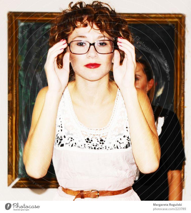 mona lisa Frau Mensch Jugendliche schön Gesicht Leben Erholung feminin Stil Erwachsene Kunst Zufriedenheit Mode elegant
