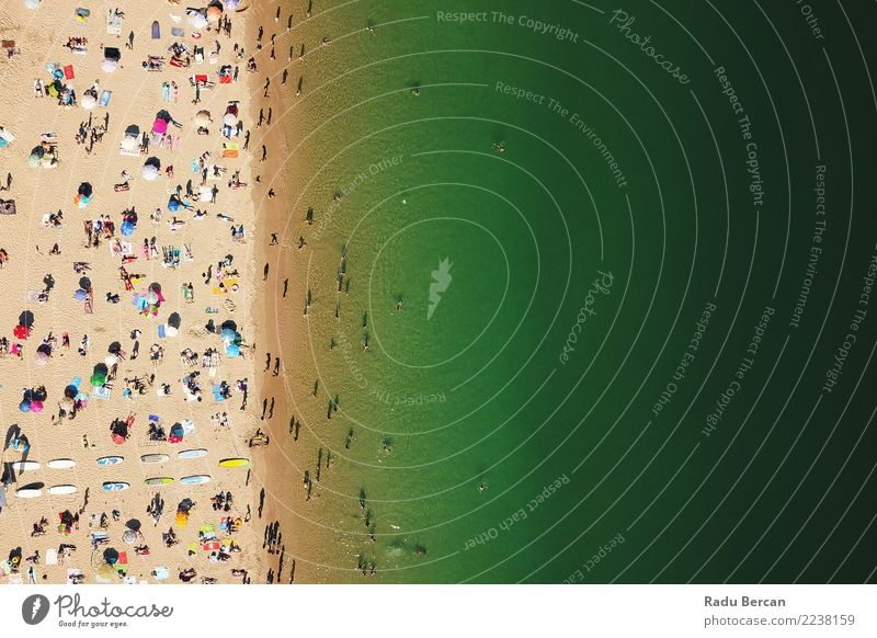 Mensch Natur Ferien & Urlaub & Reisen Sommer Wasser Sonne Landschaft Meer Strand Wärme Lifestyle Umwelt Küste Tourismus Freiheit Menschengruppe