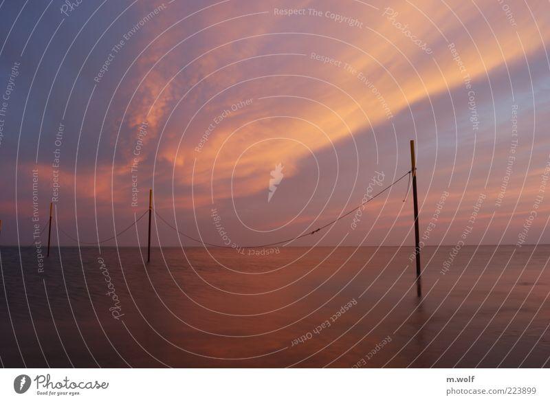 Morning Glory Ferien & Urlaub & Reisen Ferne Freiheit Meer Langeoog Nordsee Umwelt Natur Wasser Himmel Sonnenaufgang Sonnenuntergang Herbst Wetter