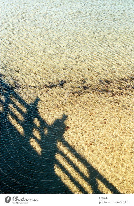 Schattenmeer Mensch Mann Wasser Ferien & Urlaub & Reisen Sonne Meer Strand Küste Sand Paar paarweise Ostsee Seebrücke Boltenhagen
