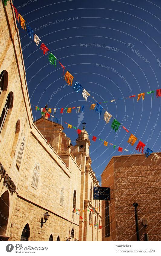 Bethlehem Ferien & Urlaub & Reisen Haus Wand Mauer Gebäude Fassade Reisefotografie Sehenswürdigkeit Sightseeing Israel West Bank Bethlehem