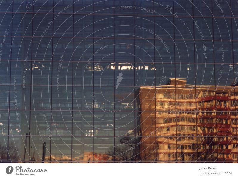 VW-gläserne Manufaktur_01 Fabrik Reflexion & Spiegelung Architektur Glas