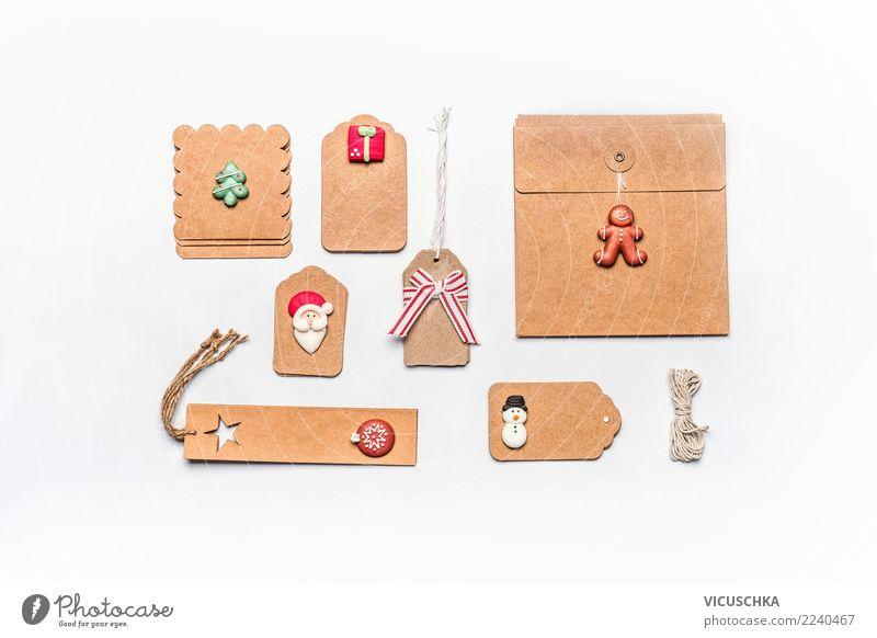 Verpackung für Weihnachtsgeschenke Stil Design Winter Party Veranstaltung Feste & Feiern Weihnachten & Advent Paket Dekoration & Verzierung Kitsch Krimskrams