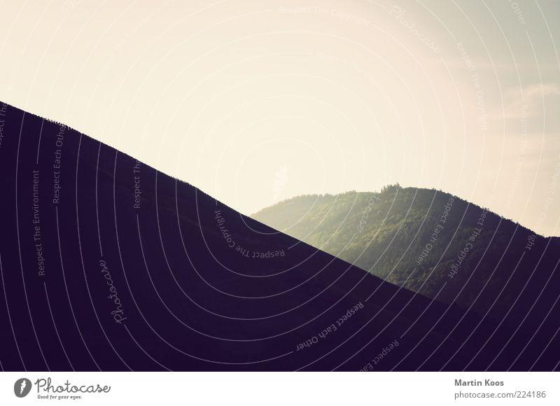 good morning sunshine Natur Einsamkeit Ferne Erholung kalt Berge u. Gebirge Landschaft Luft Zufriedenheit Nebel groß ästhetisch frisch Klima rund einzigartig