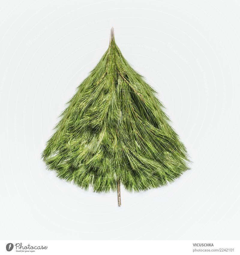 Weihnachtsbaum ohne Dekoration Ferien & Urlaub & Reisen Weihnachten & Advent Baum Winter Stil Feste & Feiern Design Dekoration & Verzierung Kreativität kaufen