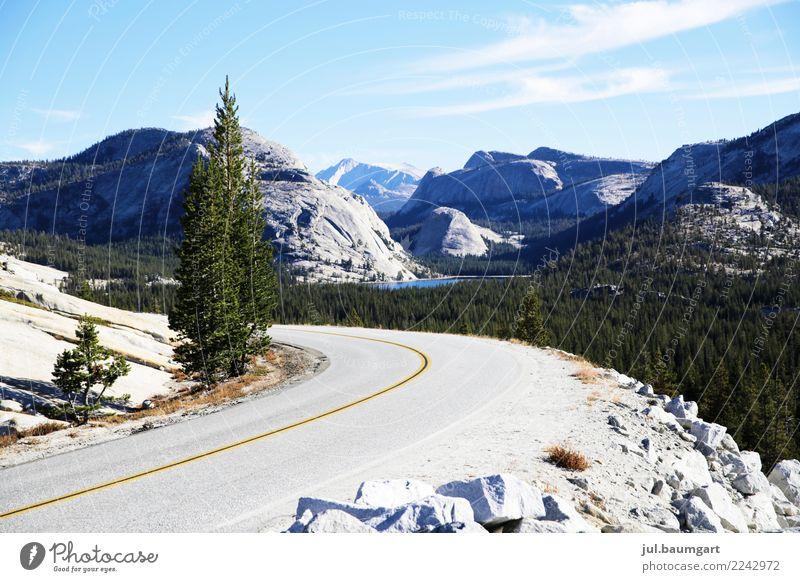 USA Yosemite National Park Lifestyle Freizeit & Hobby Ferien & Urlaub & Reisen Abenteuer Ferne Sommer Berge u. Gebirge wandern Umwelt Natur Landschaft Klima