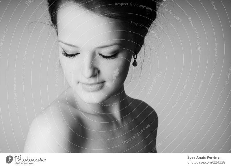 johanna. Mensch Frau Jugendliche schön Erwachsene feminin nackt Haare & Frisuren hell Haut außergewöhnlich Hoffnung 18-30 Jahre Junge Frau dünn zart