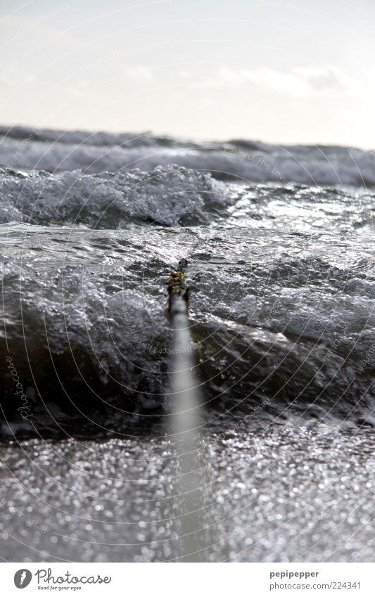water-line Wasser Strand Meer Ferien & Urlaub & Reisen Wellen Seil Freizeit & Hobby Urelemente Angeln