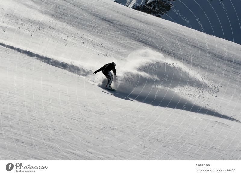 spray Lifestyle Stil Freude Freizeit & Hobby Freiheit Winter Schnee Winterurlaub Sport Wintersport Sportler Skipiste Mensch Junger Mann Jugendliche 1