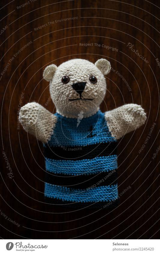 Jippieh! Freitag! Freizeit & Hobby Spielen Handarbeit Puppenspieler Handpuppe Stofftiere Bär Teddybär Freundlichkeit Fröhlichkeit weich Freude Glück