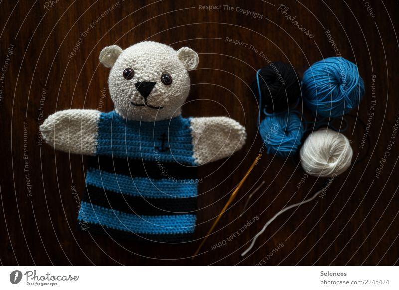 Paul Anchor Spielen Freizeit & Hobby Zufriedenheit niedlich weich Basteln Puppe Wolle Handarbeit selbstgemacht Nadel Teddybär Kinderspiel häkeln Wollknäuel