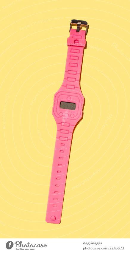 Helle rosa Farbe weiß rot Stil Business Design hell Uhr retro Dekoration & Verzierung beobachten Symbole & Metaphern Entwurf Objektfotografie