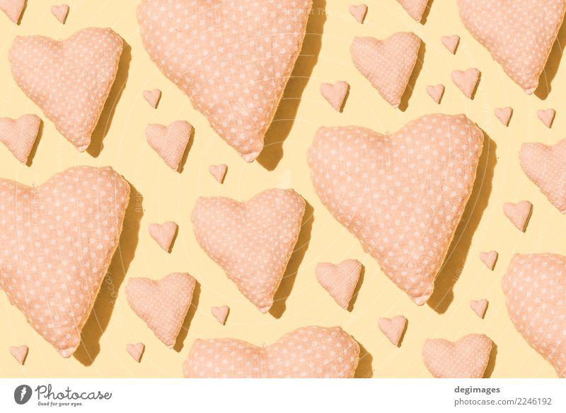 Herz-Muster Design Dekoration & Verzierung Tapete Feste & Feiern Valentinstag Kunst Papier Liebe hell rosa rot Romantik Farbe Hintergrund Valentinsgruß