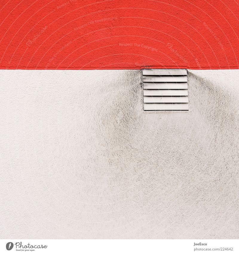 #224642 weiß rot Farbe Wand Hintergrundbild dreckig Fassade Streifen Abgas Gitter Anschnitt Bildausschnitt Lamelle Lüftung Luft