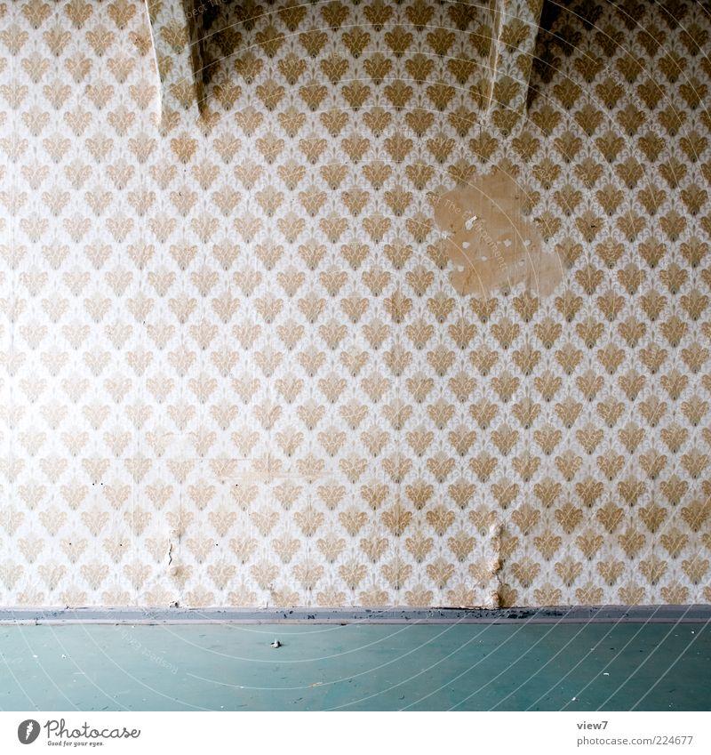 Farbwahl alt dunkel Wand Linie Raum elegant Beton Design authentisch Häusliches Leben Streifen einzigartig einfach Dekoration & Verzierung Vergänglichkeit Spuren