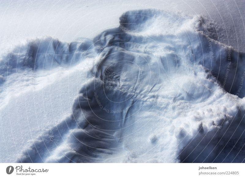 Eindruck schinden Winter Schnee Kindheit Schneeengel Schnee-Engel kalt Erinnerung Abdruck Kindheitserinnerung Außenaufnahme Muster Strukturen & Formen