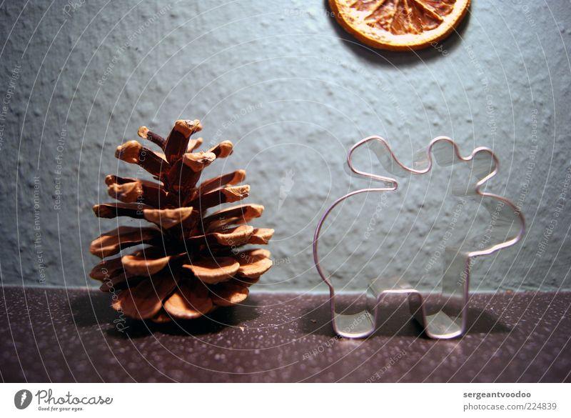 Weihnachtsmotiv Weihnachten & Advent ruhig Winter lustig Metall Stimmung außergewöhnlich Dekoration & Verzierung Kitsch skurril Surrealismus Hirsche gestellt
