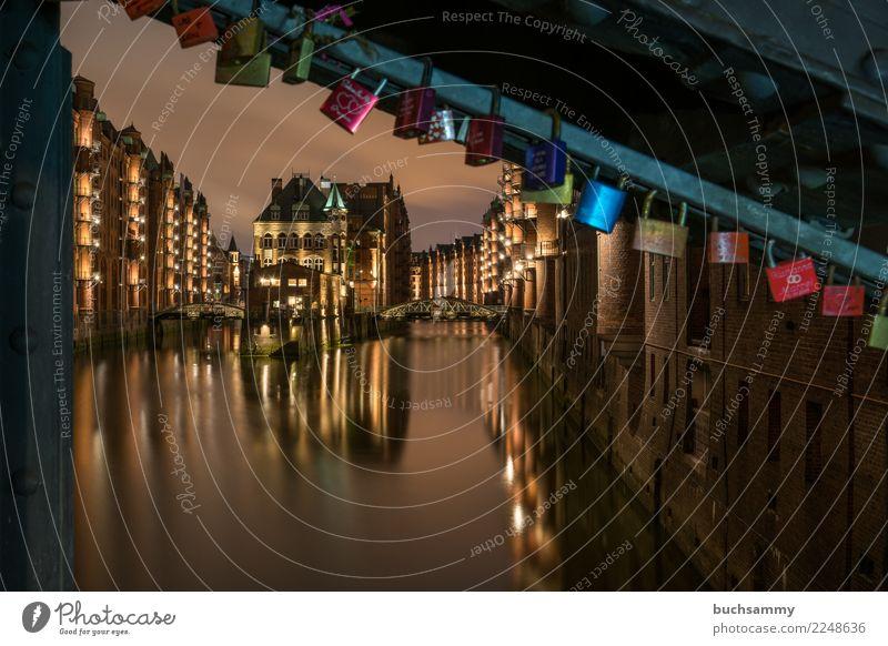 Speicherstadt Hamburg Wasserschloss Ferien & Urlaub & Reisen Tourismus Textfreiraum Europa historisch Elbe Weltkulturerbe Lagerhaus Halbinsel Alte Speicherstadt