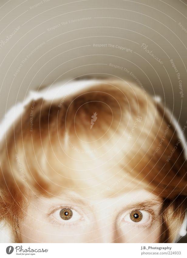 What´s up? Mensch Jugendliche schön Freude Auge Erholung Leben Stil Glück Kopf Haare & Frisuren Musik Erwachsene blond verrückt