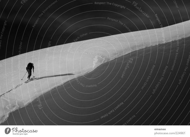 powder guide Mensch Ferien & Urlaub & Reisen Winter Freude Erwachsene Schnee Sport Freiheit Berge u. Gebirge Stil Freizeit & Hobby gehen wandern maskulin