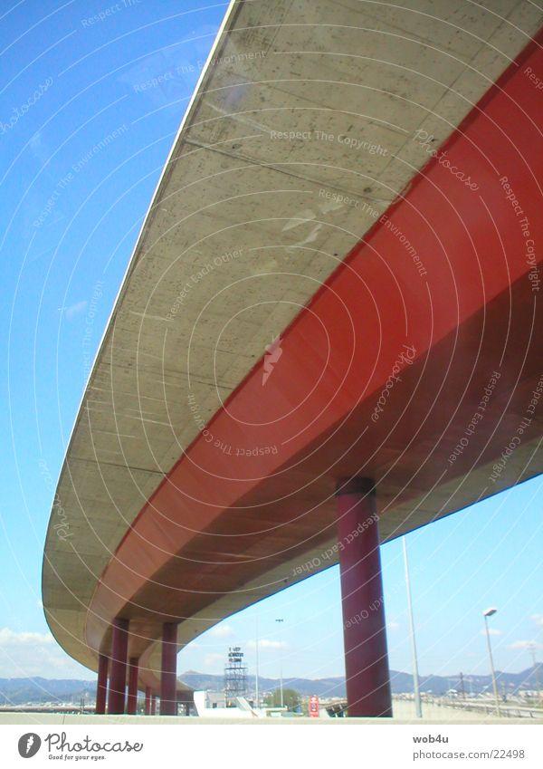 Brücke Autobahn Straße Architektur